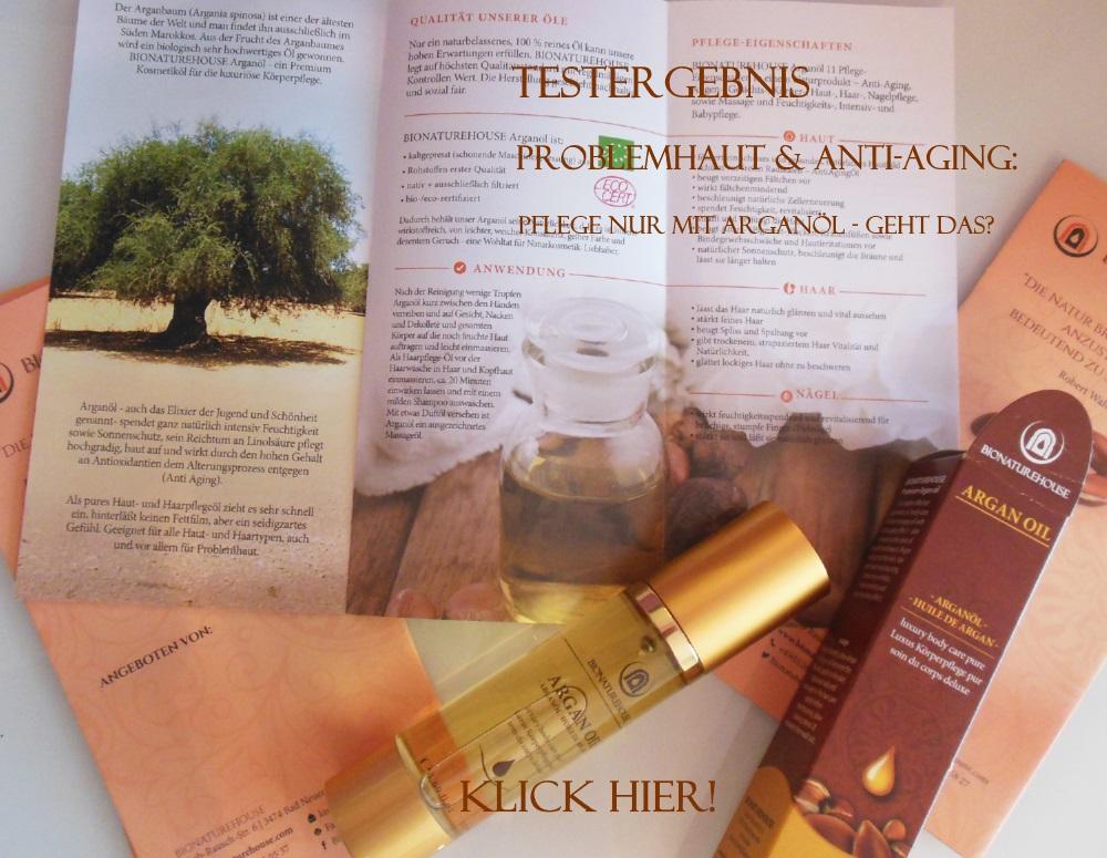 Arganöl bio Kosmetik Anti-Aging Hautöl Körperpflegeöl im Test