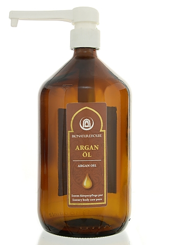 Premium Arganöl nativ bio basisöl kaltgepresst Körperpflegeöl anti aging Airless Kabinettware grosshandel