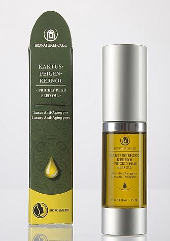 Premium Kaktusfeigenkernöl nativ bio basisöl kaltgepresst anti aging Naturkosmetik Markenware grosshandel Lieferant