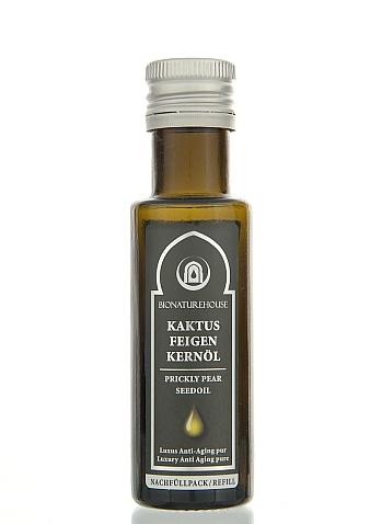 Premium Kaktusfeigenkernöl nativ bio basisöl kaltgepresst anti aging Airless Marke grosshandel