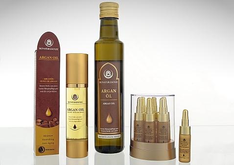 bio Arganöl Premium Grosshandel öl Naturkosmetik Wellness Anti Aging Produktset Kosmetikserie lieferant hersteller ungeröstet